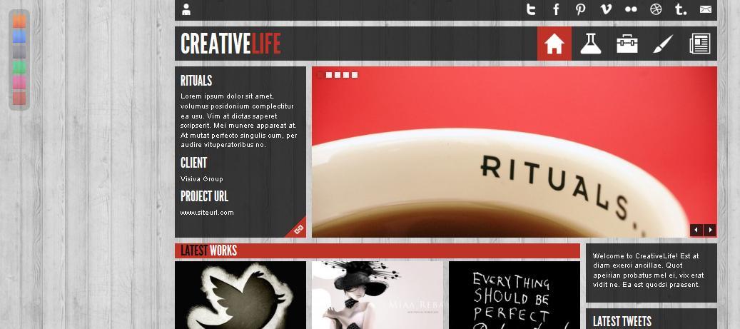, Креативная тема Creativelife